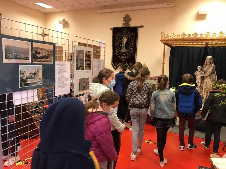 Exposition sur l'église Notre Dame